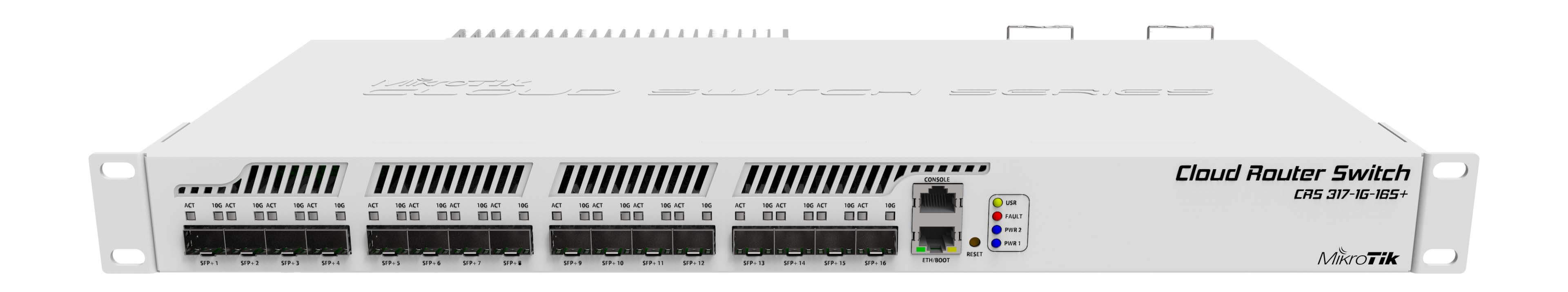 MikroTik CRS317-1G-16S+RM Router - Switch