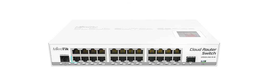 MikroTik CRS125-24G-1S-IN 24 Port Gigabit Router Switch