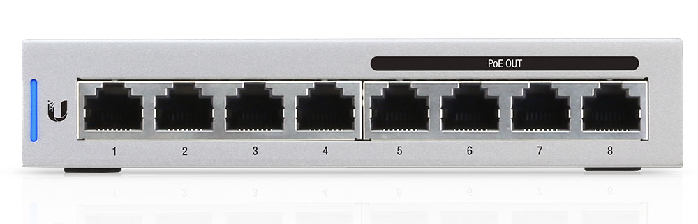 UBNT UniFi Switch 8 Port 60W Layer3 Yönetilebilir Switch